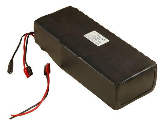 36V 7.5AH Lithium Battery Pack